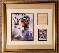 Autographed Ken Griffey, Jr. Painting & Card Philadelphia, 19152