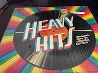 JUST REDUCED Vinyl Record Heavy Hits