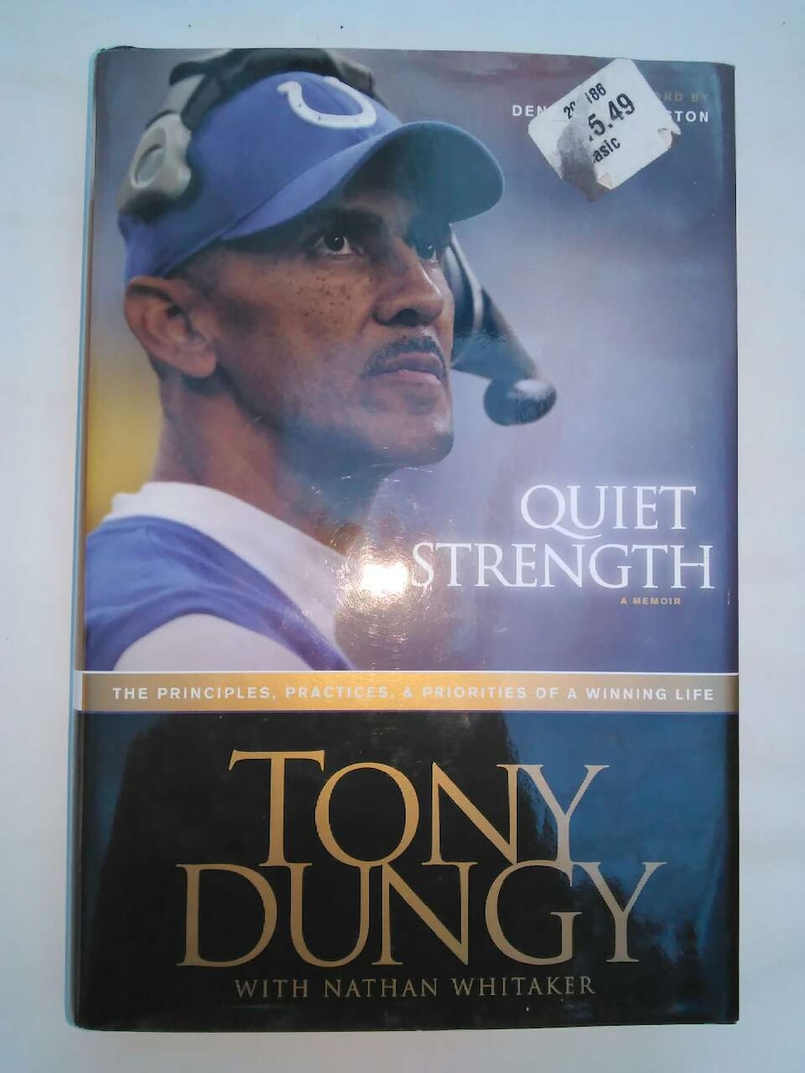 tony dungy quiet strength book report Quiet strength: the principles, practices, and priorities of a winning life [tony  dungy, nathan whitaker] on amazoncom free  award winner tony  dungy's words and example have intrigued millions of people  sold by: the  book treasury - daily shipping from nashville, tn  write a customer  review.