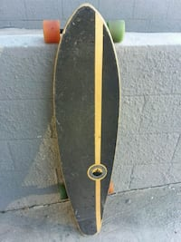 yellow and black skateboard deck Los Angeles, 90038