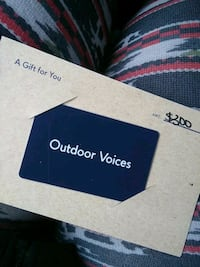 Gift Card Outdoor Voices- Active Wear
