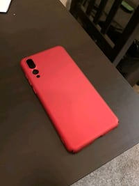 Matte Red huawei p20 pro case null