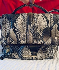 Nine West faux snakeskin crossbody purse Hagerstown, 21740