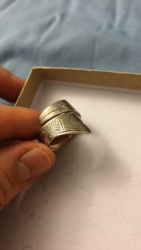 Barracuda Sterling Silver Ring Vancouver, V5R