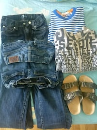 Clothes bundle/boy size 5-6: a steal of a deal! Côte Saint-Luc, H4X 1A5