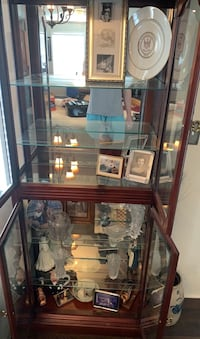 Vintage Chinese antique display cabinet