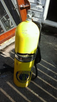 Used Scuba tank with back pack Virginia Beach, 23456