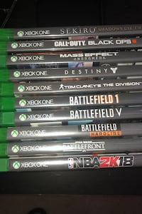 Xbox one games hit me up with offers Hyattsville, 20785