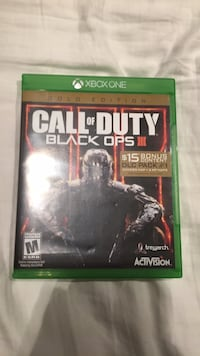 COD Black Ops 3 (Xbox) Burlington, L7T 1R5