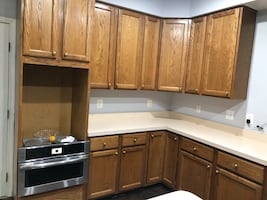 Kitchen cabinets negotiable