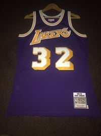 Medium Magic Johnson Hardwood Classics Jersey  Bellflower