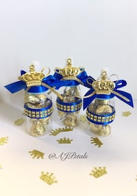 Baby shower mini bottles/favors/babyshowerfavors/Royal Prince Baby Shower Los Angeles, 90044
