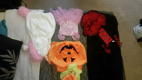 0 to 18 month costumes