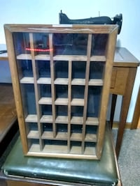 Small curio/Knick knack cabinets