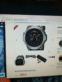 Smartwatches half price must go.  Laval, H7A 4H6