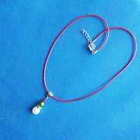 Handmade necklace. Nice gift. More coming...