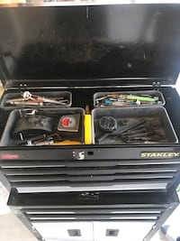 Stanley tool box with tools included Las Vegas, 89145