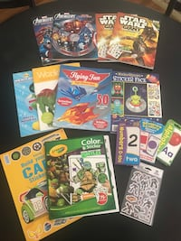 Activity books and flash cards Germantown, 38139
