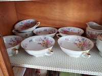 China dishes set of 5 Innisfil, L9S 1Y6