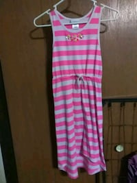 Lavender brand pink and white dress size 10-12 Sioux Falls, 57103