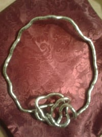 """""""Knotlace"""" necklace"""