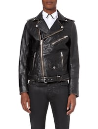DIESEL L-Umenirok leather biker jacket Tønsberg, 3122
