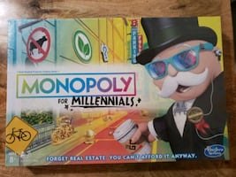 Monopoly for Millenials Game New
