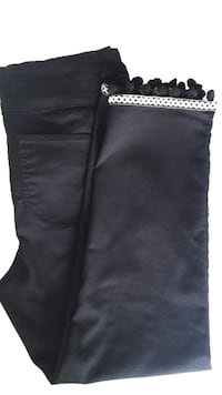 Pom Pom Ankle Pants black 10 3740 km