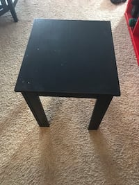 Rectangular black wooden side table Calgary, T3E 7N9