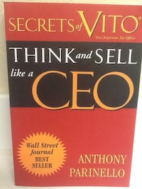 THINK & SELL LIKE A CEO Book - Parinello - Business Money Self Help Las Vegas, 89119