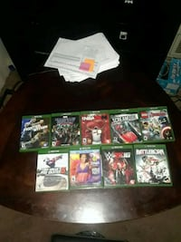 9 Xbox one games one is free Gainesville, 32607