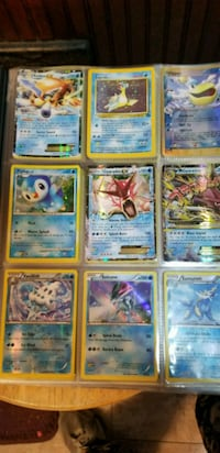 nine Pokemon trading card collection Niles, 49120