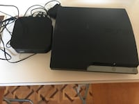 Black sony ps3 slim console Los Angeles, 90059