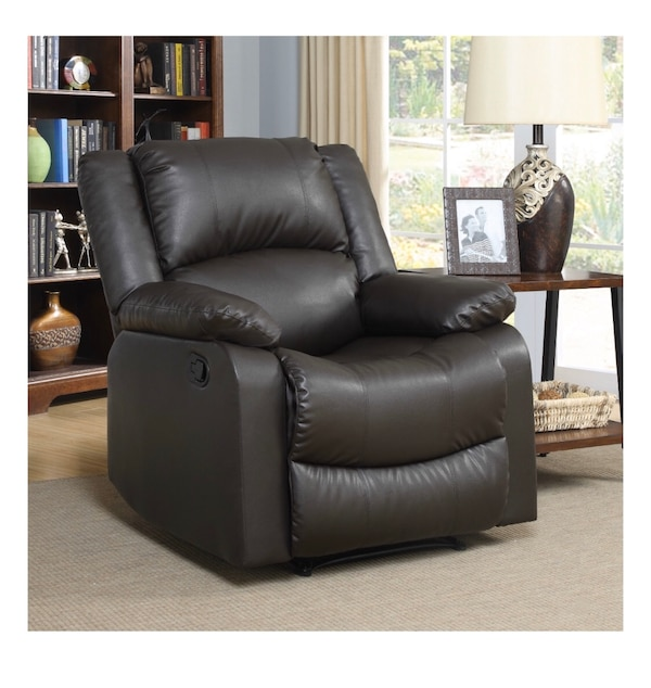 Large Recliner Single Chair in Java Leather. 14fed6ad-2832-4d8b-8493-520f1f713cc0