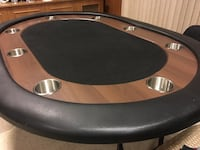 Poker table. Great Condition Côte-Saint-Luc, H4W 2N7