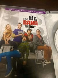 The big bang theory _the complete thrd season DVD  Knoxville