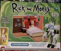Rick and Morty toy