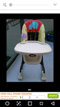 Fisher Price Highchair $55 Victoria, V8T