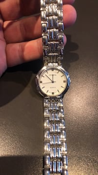 Geneva. Stainless Steel watch- new battery-beautiful-keeps perfect time Rockville, 20852