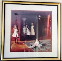 """Framed """"The Daughters of Edward Darley Boit"""" Painting by John Singer Sargent Rock Hill, 29732"""