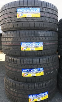 New Accelera 265/35/22 Tire Set of 4