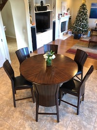 "Wood Counter Height Table (36"")  OCEANSIDE"