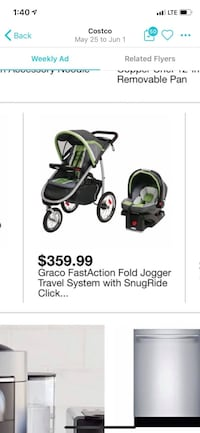 Baby strollar and car seat