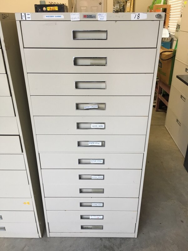 Russ Bassett Library Index Cabinets, negotiable  c518f4d5-7e54-40d2-a00d-35c56d57ae93