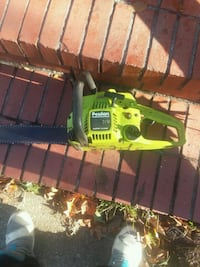 yellow and black Poulan chainsaw Newport News, 23607