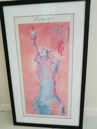 Signed poster 1980