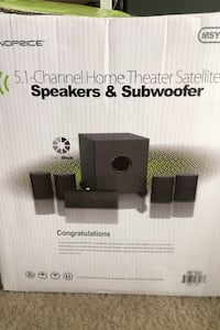 5.1 Channel Home Theater System W/ AV receiver (PRICE IS NEGOTIABLE) College Park, 20740