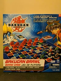 Bakugan brawl board game  Vaughan