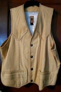 Leather vest usa Atwater, 44201