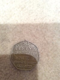 Johnson dictionary 50 pence 2005 Edgware, HA8 8HL